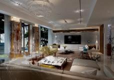 现代中式风格样板房