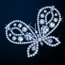 钻石蝴蝶图片