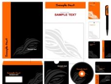 企业办公用品视觉识别系统图片