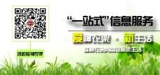 绿色主题微信宣传海报大banner