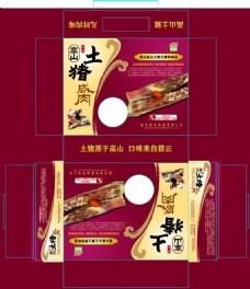 中國風食品土特產高山 土豬肉 包裝設計