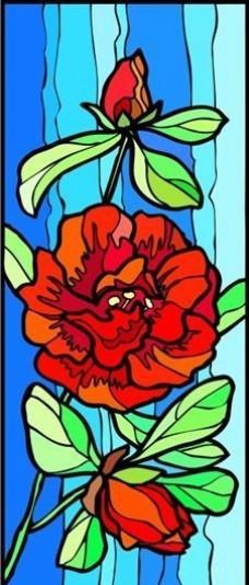 花朵 花草 鲜花 矢量 EPS格式_0022