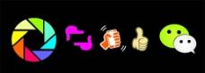微信 朋友圈 矢量图图片