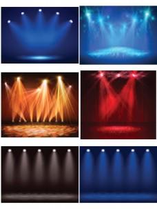 舞台上的灯光