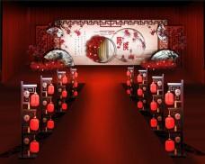 新中式婚礼效果图