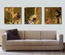 中国风室内客厅装饰画