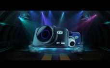 淘宝数码相机舞台素材图片