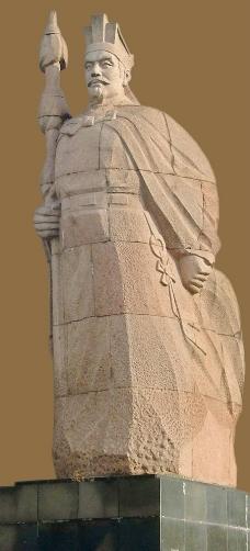 张骞城固丝绸之路出使西域图图片