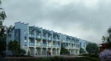 多层安置房住宅效果图图片
