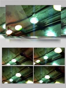 蓝色地下光束视频素材