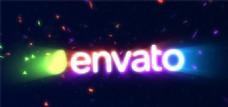 绚丽光线舞动动画AE模板