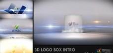 三维箱子Logo演绎动画AE模板
