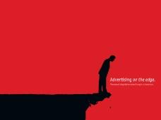 扁平化广告创意经济达人PPT模板