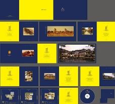 房地产楼书设计模板ai素材下载