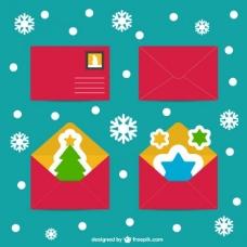 圣诞贺卡的载体