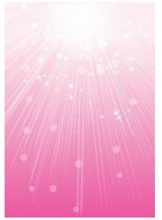 粉色光效背景矢量图素材