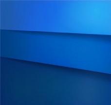蓝色层叠纸张背景矢量图图片