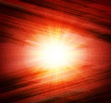 红色光线背景矢量