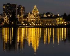 加拿大城市夜景
