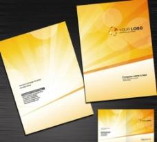 简洁大气企业画册封面图片