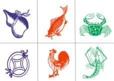 押宝鱼虾蟹葫芦鸡图片