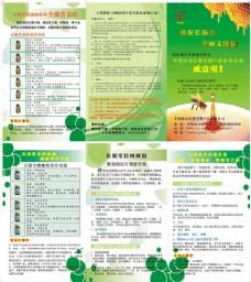 蜂蜜宣传折页设计矢量