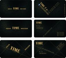 TIME名片设计