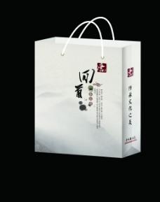 中国风手提袋设计  CDR格式   原创