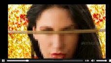 三角形透明切块创意相册视频AE模板