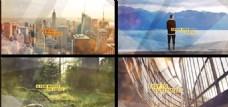 唯美城市生活展示动画AE模板