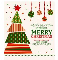 圣诞节素材卡通矢量图层圣诞球 圣诞节快乐