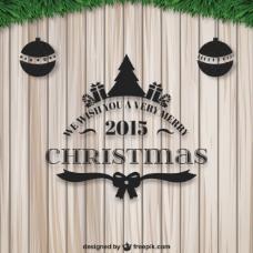 非常愉快的2015圣诞卡