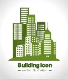 宏伟的城市建筑设计矢量素材