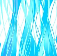 蓝色树木背影图片