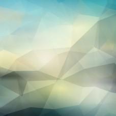 抽象风格的多边形背景