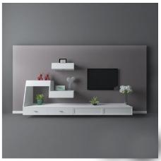 创意电视墙模型