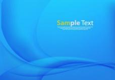 蓝色抽象背影图片