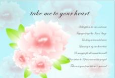 花卉卡片图片