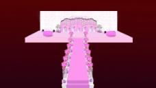 粉色主题婚礼图片