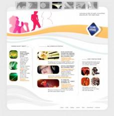 仿国外网站电商界面排版购物网页设计PSD
