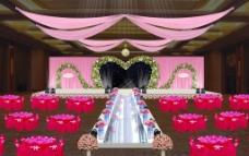 LOVE主题婚礼图片