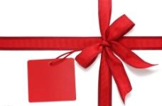 红色礼物带图片