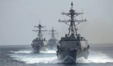 哈尔西号驱逐舰图片