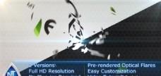三维旋转Logo标志演绎AE模板