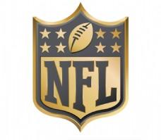 NFL GOLD 美式足球联盟 标志
