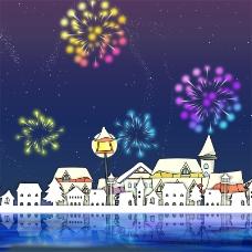 元旦新年年货主图