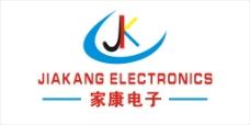 惠州市家康电子logo