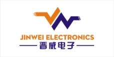 惠州市晋威电子logo