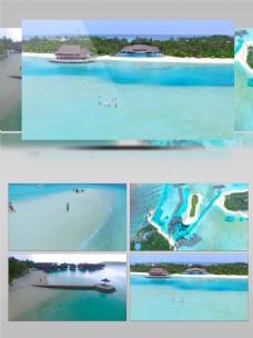 马尔代夫假日旅游景点实拍素材