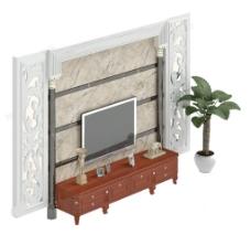 液晶电视素材模板下载